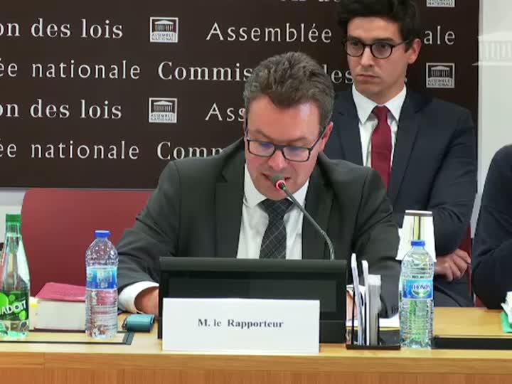 Commission des lois : Dispositions du droit électoral