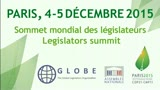 Volet parlementaire de la COP21 : GLOBE International